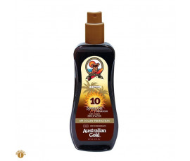Australian Gold SPF10 Spray Gel Sunscreen BRONZER 237 ml