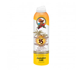 Australian Gold SPF15 Premium Coverage Continuos Spray Sunscreen 177 ml