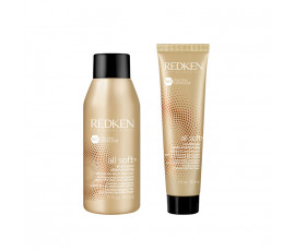 Redken Mini Kit All Soft Shampoo + Conditioner