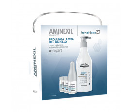 L'Oreal Kit Aminexil Advanced Shampoo + Vials 30 x 6 ml