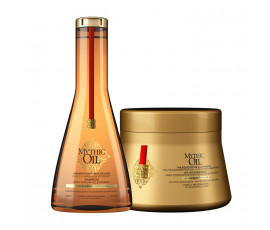 L'Oreal Mythic Oil Shampoo + Thick Hair Masque