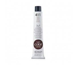 Revlon Professional Nutri Color Creme 411 - Cold Brown 100 ml