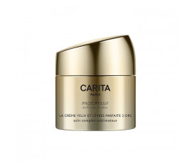 Carita Progressif Anti-Age Global Perfect Cream Trio of Gold for Eyes and Lips Complete Radiance Care 15 ml