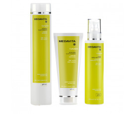 Medavita Kit Curladdict Shampoo 250 ml + Mask 150 ml + Strong Hold Fluid 200 ml