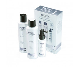 Nioxin Kit System 1 Trial Cleanser + Scalp Revitaliser + Scalp Treatment