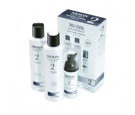 Nioxin Kit System 2 Trial Cleanser + Scalp Revitaliser + Scalp Treatment