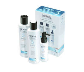 Nioxin Kit System 5 Trial Cleanser + Scalp Revitaliser + Scalp Treatment